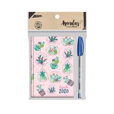 Agenda-2020-Trendy-Cactus---Lapicero-Trimax-35f-Azul-1-79227687