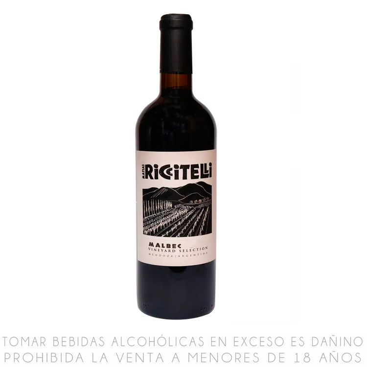 Vino-Tinto-Malbec-Vineyard-Selection-Riccitelli-Botella-750-ml-1-12037379