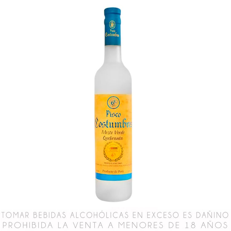 Pisco-Costumbres-Mosto-Verde-Acholado-Botella-500-ml-1-36818620