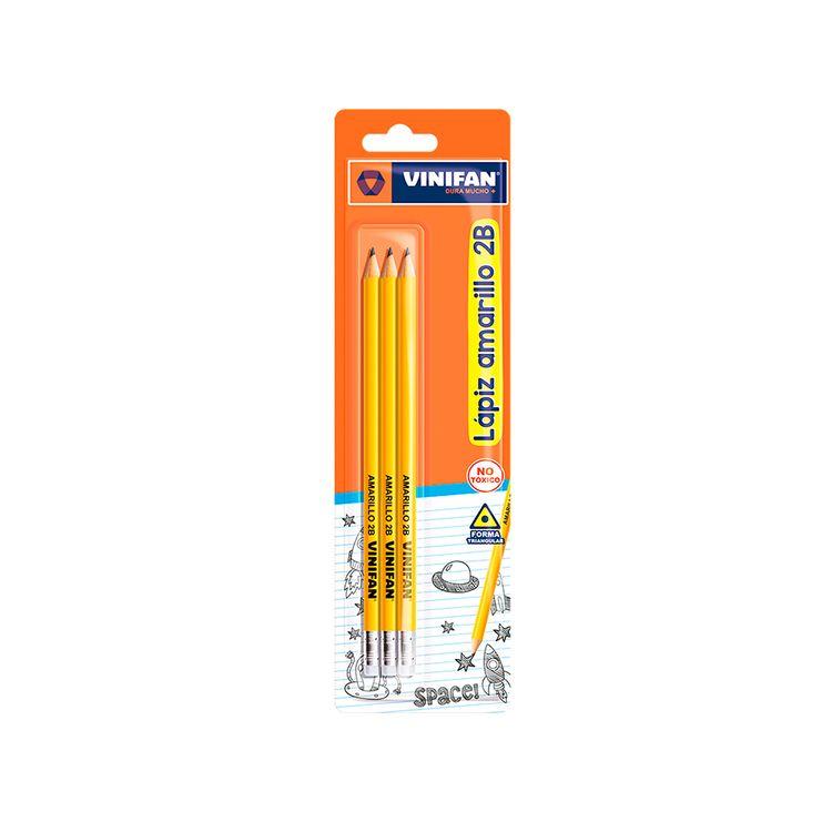 Lapiz-Amarillo-2B-Vinifan-Pack-3-Unid-1-113959