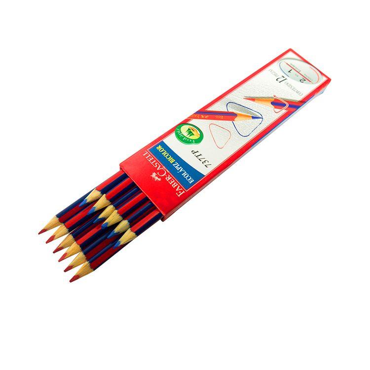 Ecolapiz-Bicolor-737TP-Faber-Castell-Caja-12-Unid-1-105926