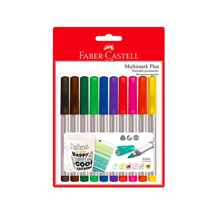 Marcador-Permanente-Multimark-Plus-Faber-Castell-Pack-10-Colores-1-24293