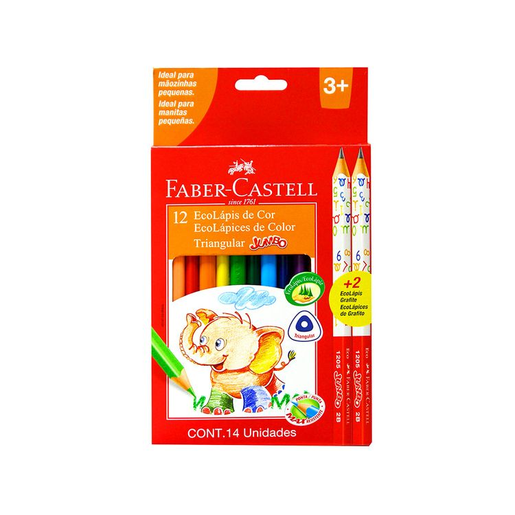 Ecolapices-de-Color-Jumbo-Faber-Castell-Estuche-12-Colores---2-Grafito-1-24821569