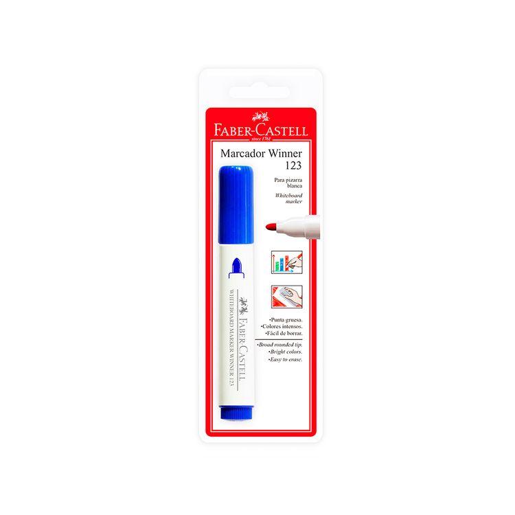Plumon-para-Pizarra-Blanca-Marcador-Winner-123-Faber-Castell-Azul-1-24821592