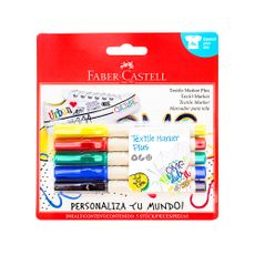 Marcador-para-Tela-Textile-Marker-Plus-Faber-Castell-5-Unid-1-109801012