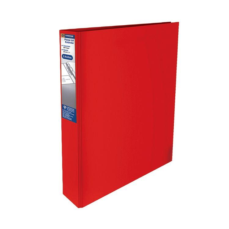 Pioner-Surtido-25-Mm-2anillos--Rojo--A4-1-51186