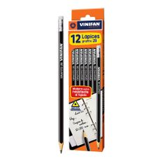 Lapiz-Grafito-2B-con-Borrador-Vinifan-Caja-12-Unid-1-113963