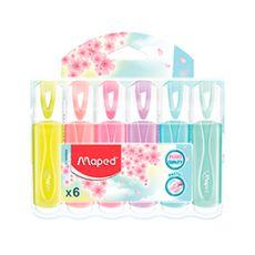 Resaltador-Classic-Pastel-Maped-6-Unid-1-109801052