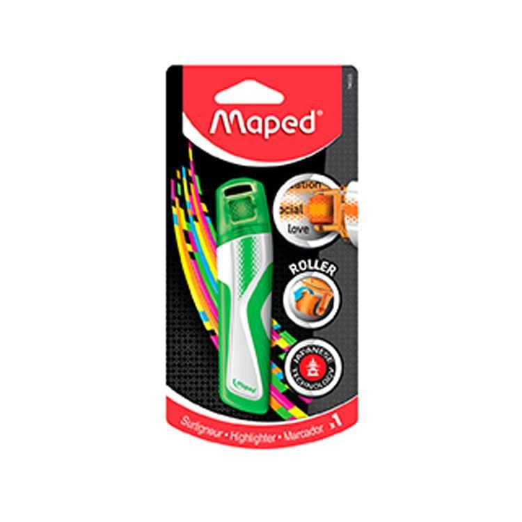 Resaltador-Fluorescente-Roller-Maped-Verde-1-109801053