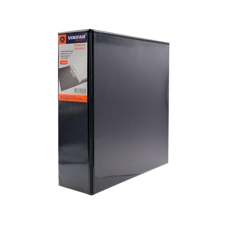 Pioner-Universal-A4-65-mm-2-Anillos-Vinifan-Negro-1-43694