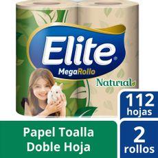 Papel-Toalla-Natural-Doble-Hoja-Megarrollo-Elite-Paquete-2-Rollos-de-112-Hojas-1-90397168