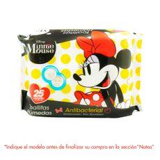 Toallitas-Humedas-Antibacterial-Minnie-Mouse-Paquete-25-unid-Surtido-1-94026