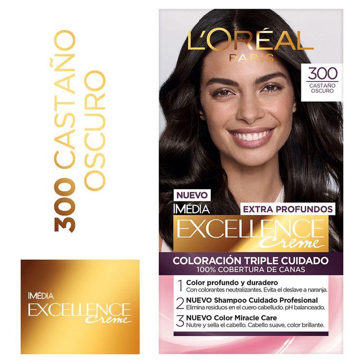 Tinte-Para-cabello-300-Castaño-Oscuro-1625-ml-Excellence-1-31564567