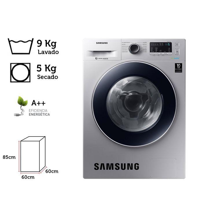 Samsung-Lavaseca-9-Kg-5-Kg-WD90M4453JS-Eco-Bubble-1-77865441