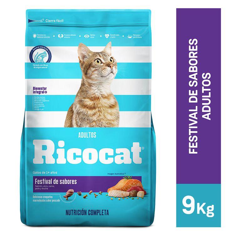 Ricocat-Alimento-para-Gatos-Adultos-Festival-de-Sabores-Bolsa-9-Kg-1-34829229