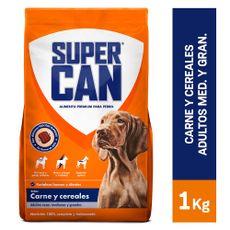 Supercan-Alimento-para-Perros-Adultos-Raza-Mediana-Grande-Carne-y-Cereales-Bolsa-1-Kg-1-22931384