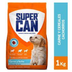 Supercan-Alimento-para-Perros-Cachorros-Carne-y-Leche-Bolsa-1-Kg-1-22931388