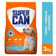 Supercan-Alimento-para-Perros-Cachorros-Carne-y-Leche-Bolsa-3-Kg-1-22931389