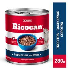 Ricocan-Trocitos-en-Salsa-para-Perros-Cachorros-Sabor-Cordero-Lata-280-gr-1-126697341