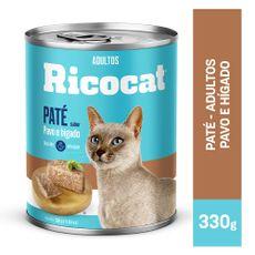 Ricocat-Pat-para-Gatos-Adultos-Pavo-e-H-gado-Lata-330-gr-1-102342348