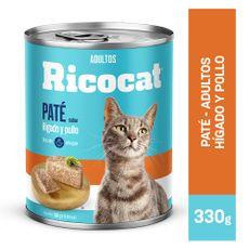 Ricocat-Pat-para-Gatos-Adultos-H-gado-y-Pollo-Lata-330-gr-1-102342350