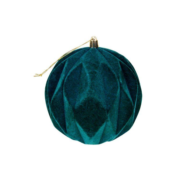Krea-Colgante-Esfera-Verde-12-cm-Velvet-1-150438110