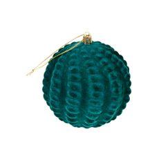 Krea-Colgante-Esfera-Verde-10-cm-Velvet-1-150438112