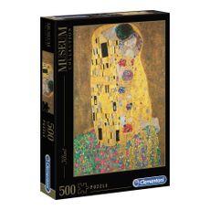 Clementoni-Rompecabezas-Il-Bacio-de-Klimt-500-Piezas-1-133830762