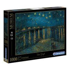 Clementoni-Rompecabezas-Notte-stellata-sul-Rodano-de-Van-Gogh-1000-Piezas-1-133830775