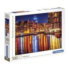 Clementoni-Rompecabezas-Amsterdam-500-Piezas-1-89447