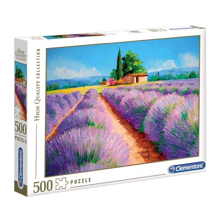 Clementoni-Rompecabezas-Lavanda-500-Piezas-1-133830766
