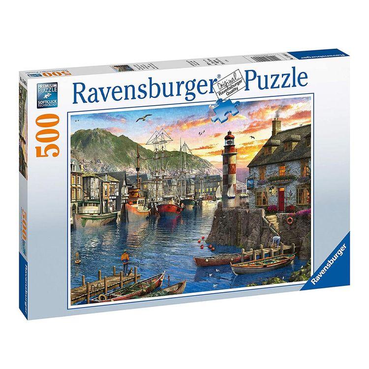 Ravensburger-Rompecabezas-Amanecer-en-Puerto-500-Piezas-1-170986637