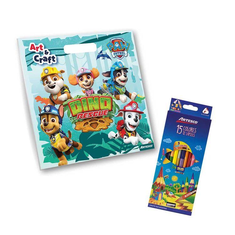 Pack-Artesco-Libro-para-Colorear-Paw-Patrol-Dino-Rescue-Colores-D-o-Color-1-180439166