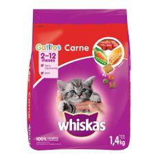 Whiskas-Alimento-Seco-para-Gatitos-Sabor-Carne-Bolsa-1-4-Kg-1-183177605