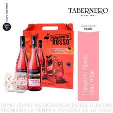 Vino-Gran-Rose-Tabernero-Pack-2-Botellas-de-750-ml-c-u-2-Vasos-de-Vidrio-1-69512090
