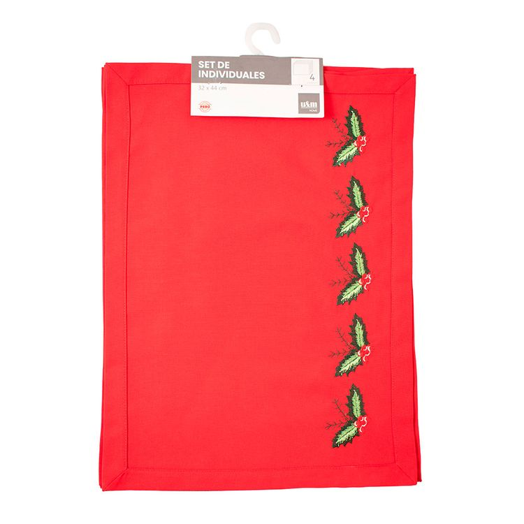 U-M-Home-Individuales-Bordados-de-Tela-Hojas-Peque-as-Rojo-Set-4-unid-1-180439316