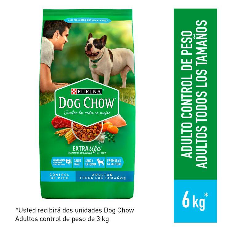 Pack-Dog-Chow-Alimento-para-Perros-Adultos-Control-de-Peso-Bolsa-6-Kg-1-188232758