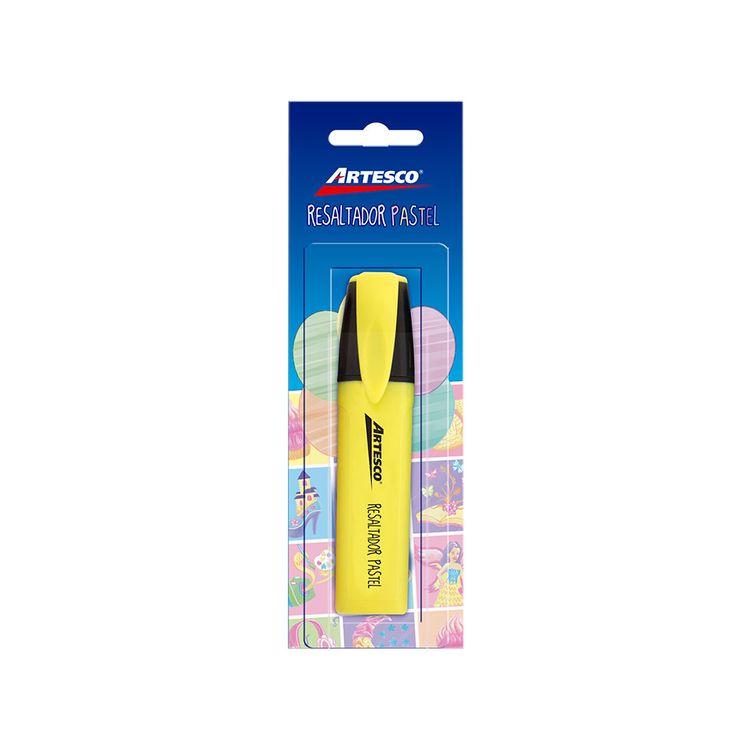 Resaltador-Pastel-Artesco-Amarillo-1-24416745