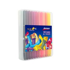 Plumones-Delgados-Trimax-45-Artesco-Pack-24-unid-1-24416734
