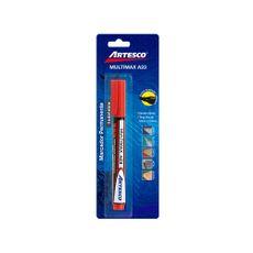 Marcador-Permanente-Multimax-A23-Artesco-Rojo-1-24606