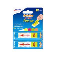 Artesco-Banderitas-Adhesivas-Sign-Here-Pop-Up-Sticky-Notes-Ne-n-Bl-ster-60-und-1-109801212