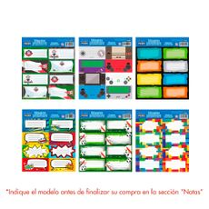 Mega-Print-Etiquetas-Autoadhesivas-Ni-os-8-Stickers-Surtido-1-37929