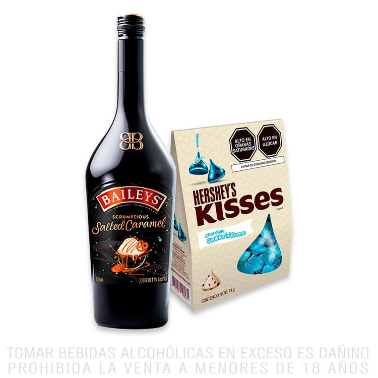 Baileys-Salted-Caramel-Botella-750-ml-Chocolates-Kisses-Cookies-n-Creme-Caja-74-g-Baileys-Salted-Caramel-Botella-750-ml-Chocolates-Kisses-Cookies-n-Creme-Caja-74-g-1-194600103
