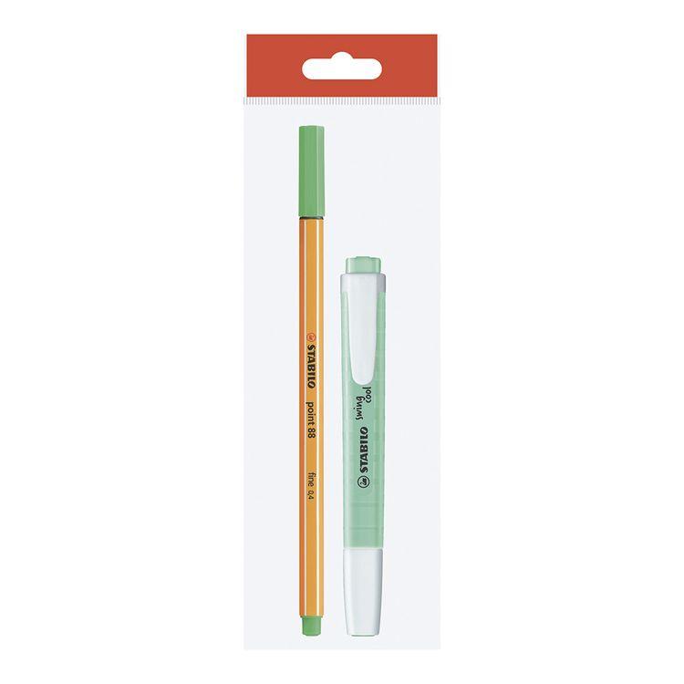 Stabilo-Resaltador-Swing-Cool-Rotulador-Point-88-Verde-Pastel-1-63833235