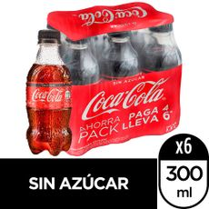 Gaseosa-Coca-Cola-Zero-Botella-300-ml-Pack-de-6-unid-1-181833