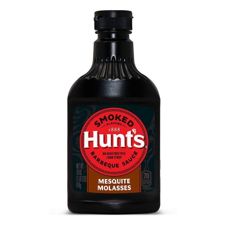 Salsa-BBQ-Mesquite-Molasses-Hunt-s-Smoked-Flavors-Frasco-510-g-1-182968131