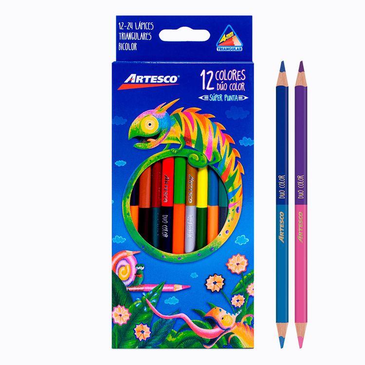 Artesco-Colores-Triangulares-Duo-Color-Caja-12-unid-1-113643