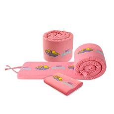 Forli-Protector-de-Borde-para-Cuna-Looney-Tunes-Baby-Almohada-Rosado-1-199422114