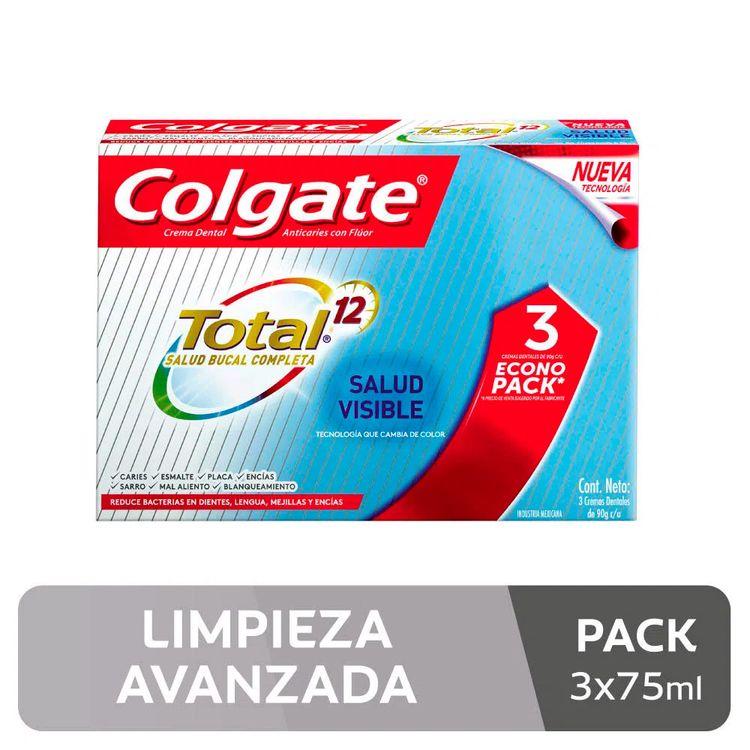 Crema-Dental-Colgate-Total-12-Salud-Visible-Tubo-75-ml-Pack-3-unid-1-214703