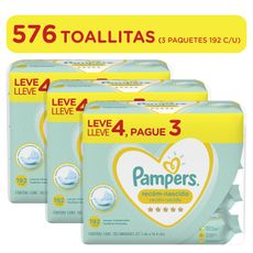 Pack-x3-Pampers-Pañitos-Recien-Nacido-192-unidades